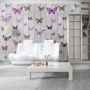 Tapeta v rolke Bimago Papillons, 0,5 × 10 m