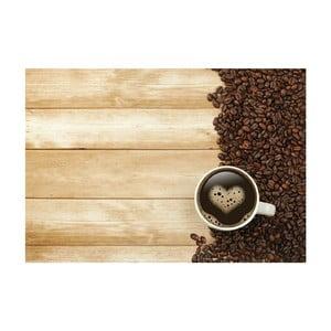 Vinylový koberec Coffee, 52×75cm