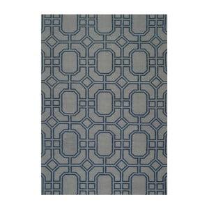 Vlnený ručne tkaný koberec Safavieh Bellina, 152x243cm