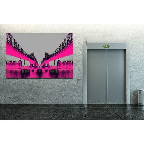 Obraz Night Vision Pink, 81 x 122 cm