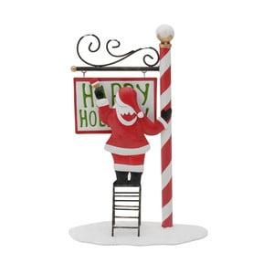 Vianočná dekorácia v tvare Santu InArt Gina