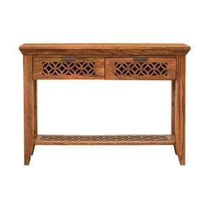 Konzolový stolík z masívneho palisandrového dreva Massive Home Rosie