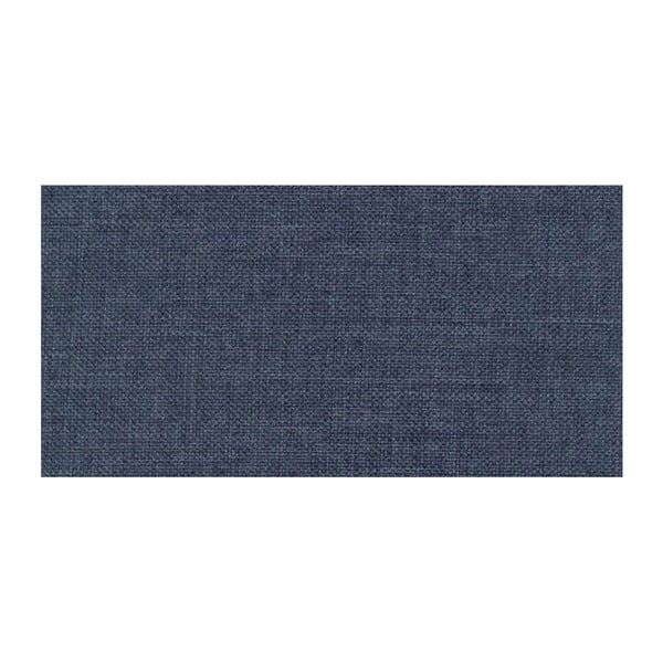 Modrá rozkladacia pohovka Modernist Icone, pravý roh
