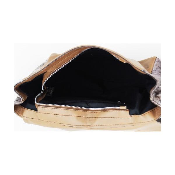 Kožená kabelka Vitello Nero
