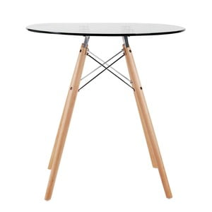Sklenený stolík Tendar