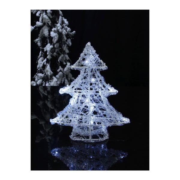 Svietiaca dekorácia Snowy Christmas