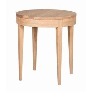 Odkladací stolík Secret Oak, 55x50 cm