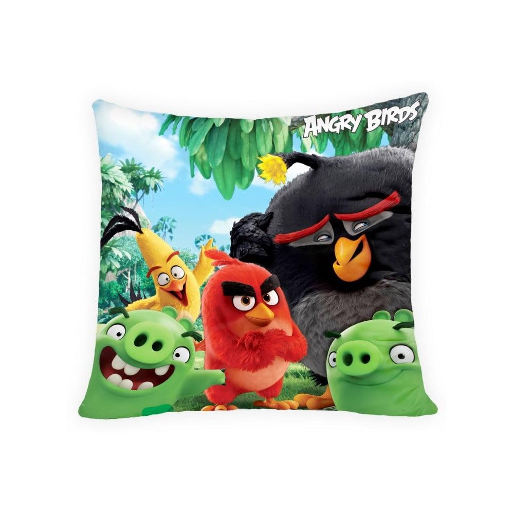 Detský vankúš Halantex Angry Birds Movie, 40 x 40 cm