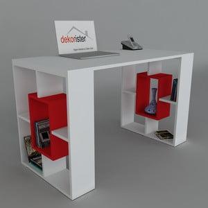 Pracovný stôl Valencia Red, 60x120x73,8 cm