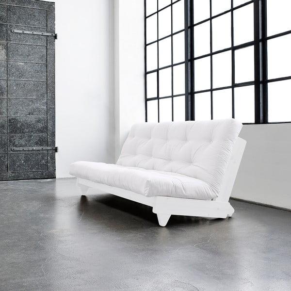 Rozkladacia pohovka Karup Fresh White/Natural