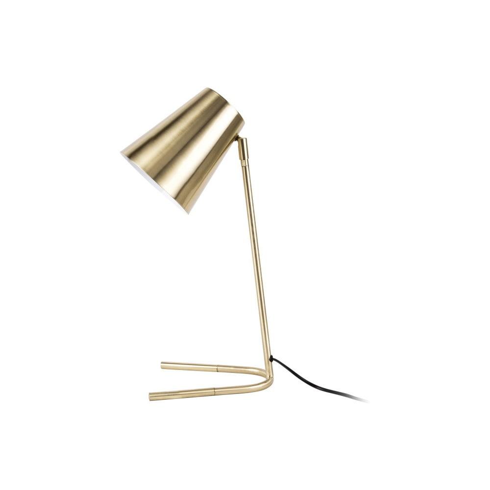 Stolová lampa v zlatej farbe Leitmotiv Noble