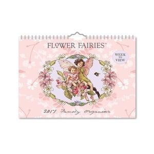 Rodinný organizér A4 Portico Designs Flower Fairies
