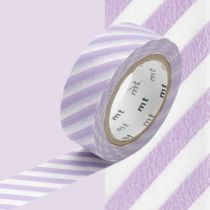 Washi páska Stripe Lilac