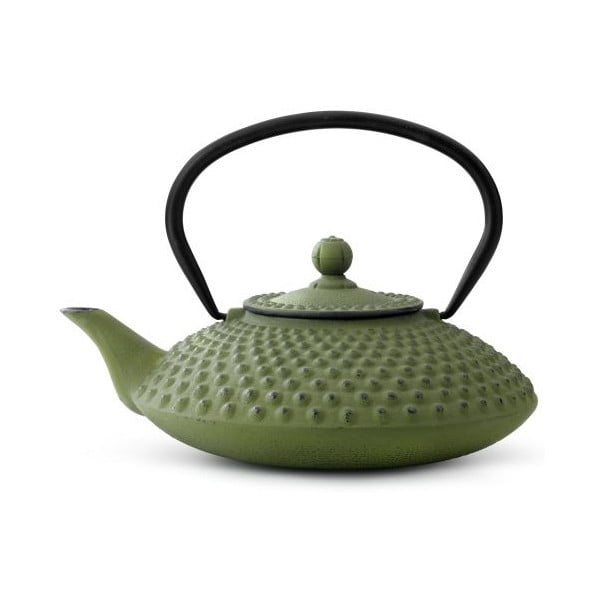 Zelená kanvica Bredemeijer Xilin, 1,25 l