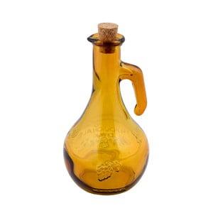 Žltá fľaša na ocot z recyklovaného sklaEgo Dekor Di Vino, 500 ml