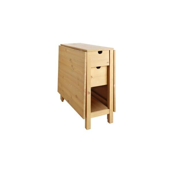 Rozkladací stôl z borovicového dreva Støraa Leon