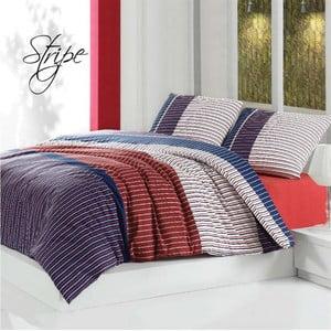 Obliečky s prestieradlom Stripe, 200 x 220 cm
