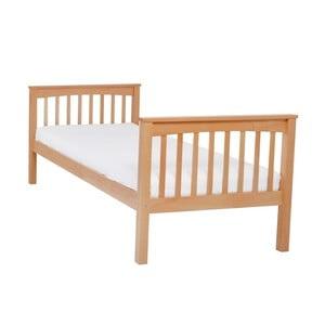 Detská jednolôžková posteľ z masívneho bukového dreva Mobi furniture Lea, 200×90cm