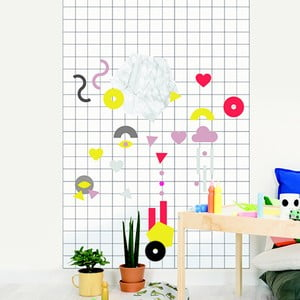 Samolepka Chispum Magnet Wall Sticker Shapes
