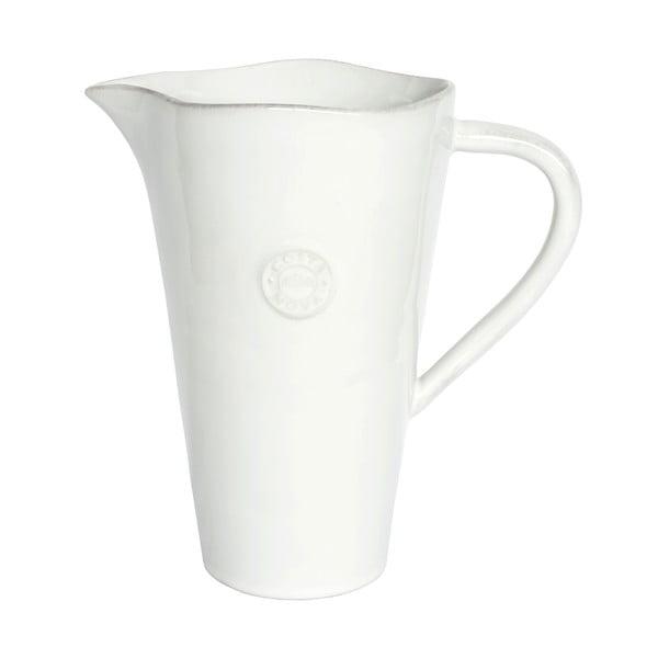 Biely keramický džbán Ego Dekor Nova, 1,5 l