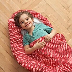 Detský spací vak Bartex Srdiečka, 70x180cm