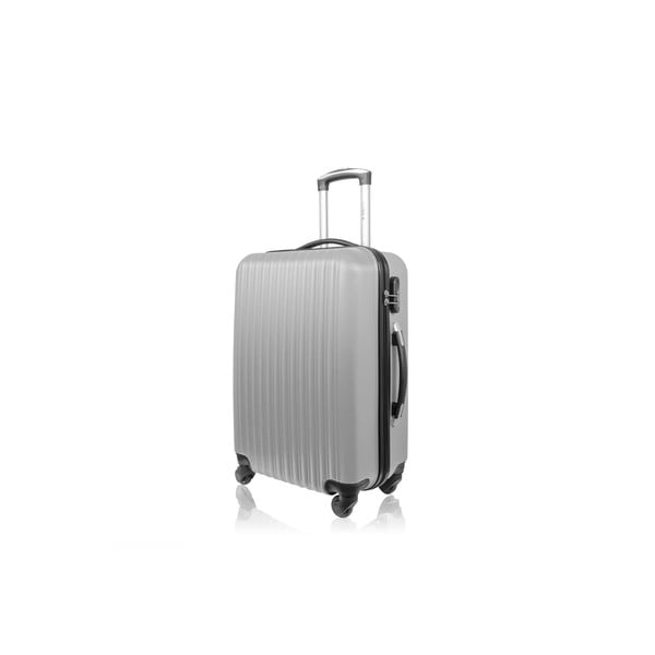 Sada 3 kufrov Brand Developpement Roues Cadenas Silver, 105 l/72 l/40 l