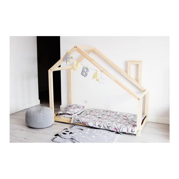 Detská posteľ z borovicového dreva Benlemi Deny, 80 x 180 cm