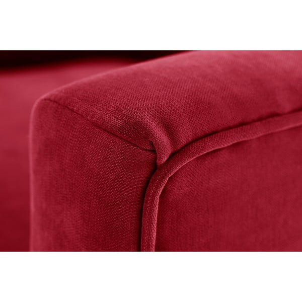 Kreslo Jalouse Maison Kylie, klasická červená