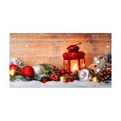 Kuchynský behúň Crido Consulting Winter Wonderland, dĺžka 100 cm