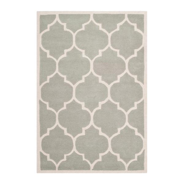 Ručne vyšívaný koberec Morton Light, 152x243 cm