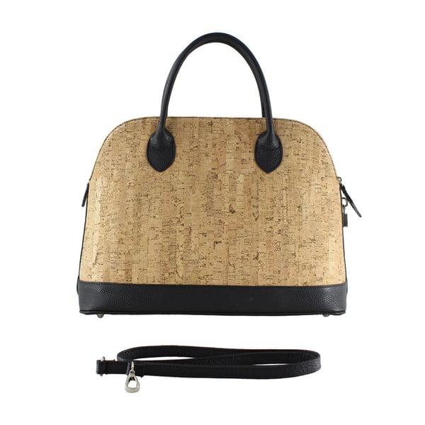 Čierna kožená taška Kim