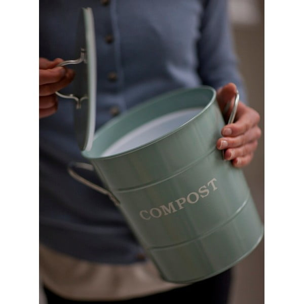Kompostovač Bucket Shutter Blue, 3.5 l