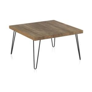 Konferenčný stolík s doskou z brestového dreva Geese Rea, výška 40 cm