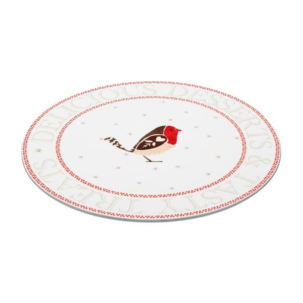 Servírovací tanier Little Red Robin