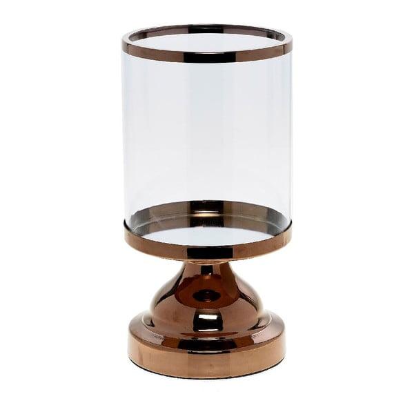 Svietnik Trophy Copper, 13x13x24 cm
