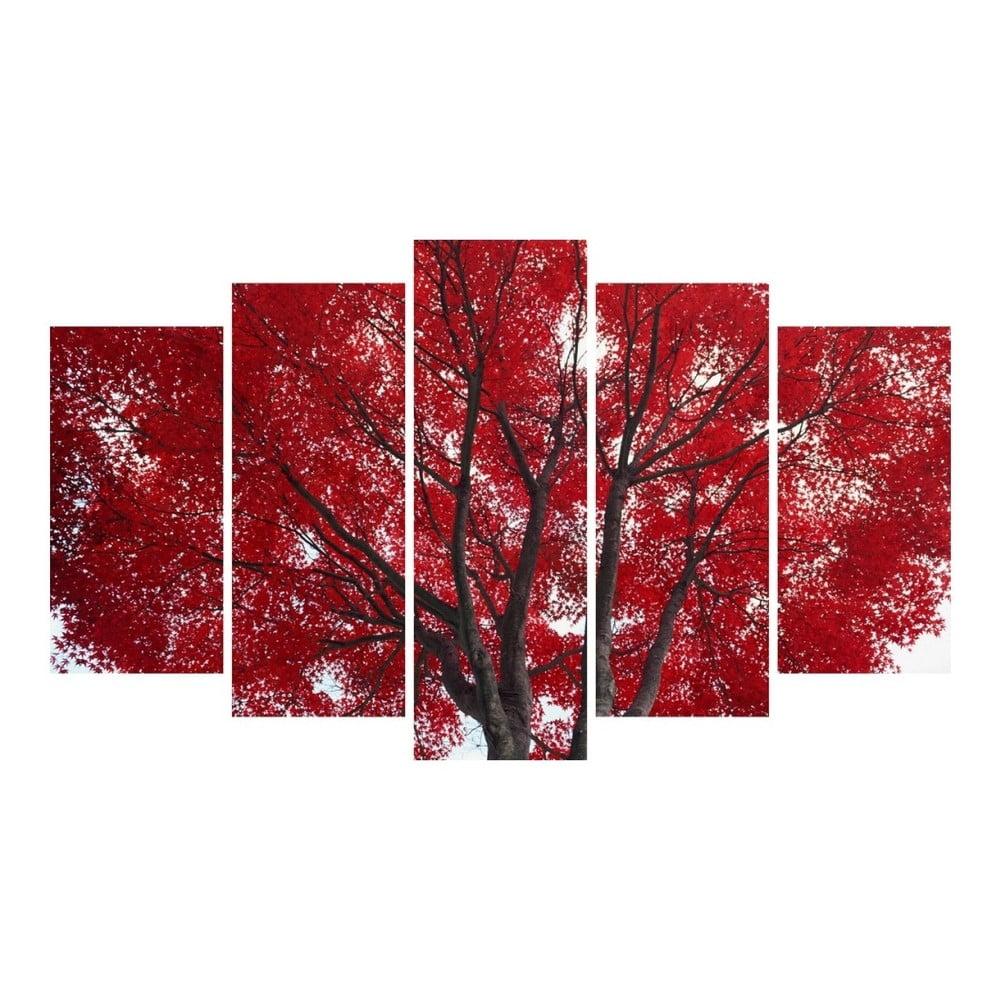 Viacdielny obraz 3D Art Red Passion, 102 × 60 cm