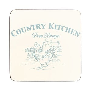 Sada 4 tácok Country Kitchen