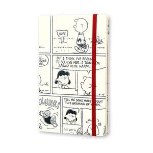 Týždenný diár Moleskine Peanuts, 13x21 cm