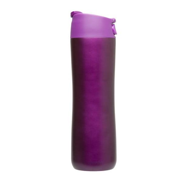 Termohrnček Flip & Sip 470 ml, fialový