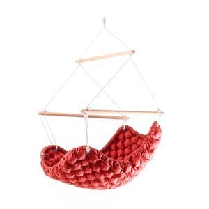 Interiérové hojdacie kreslo Swingy InMystic,červené