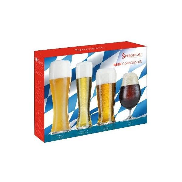 Sada 6 pohárov na pivo Connoisseur