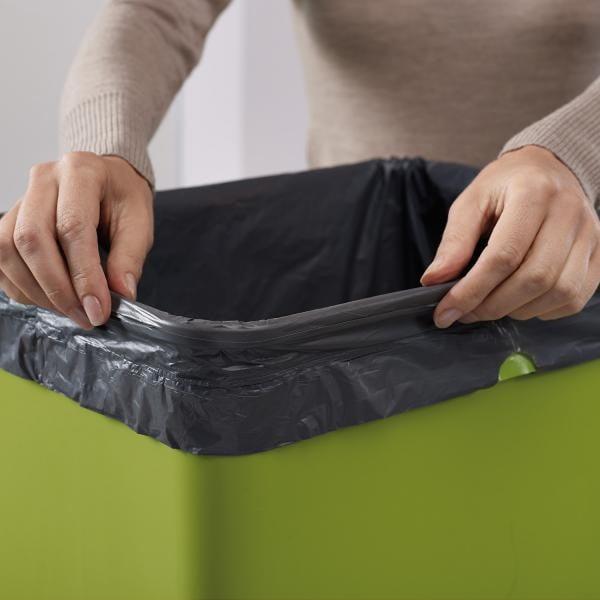 Koše na triedený odpad Intelligent Waste Totem 50, grafitová sivá