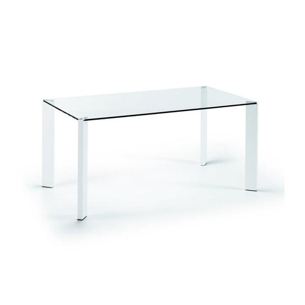 Jedálenský stôl Corner, 160x90cm, bielenohy