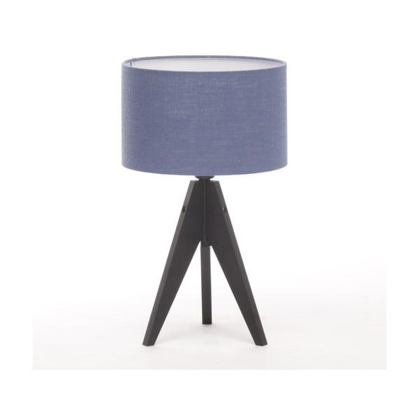 Stolná lampa Arist Cylinder Dark Blue/Black