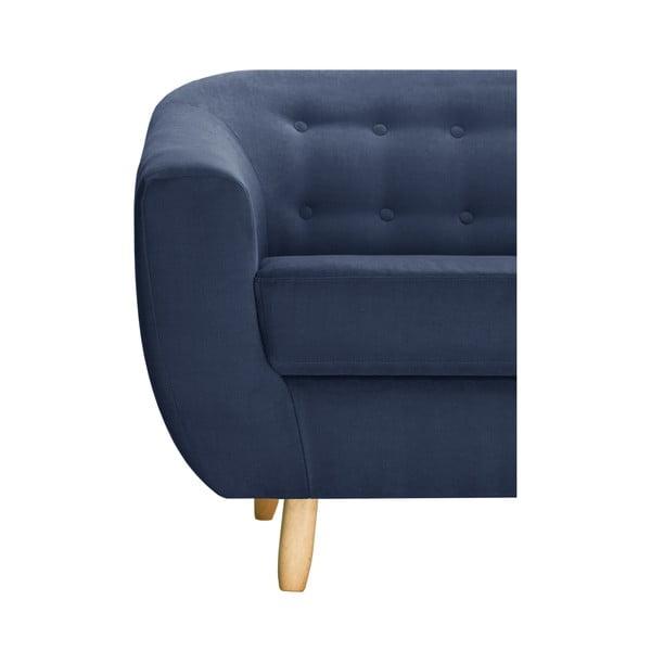 Námornícky modrá dvojmiestna pohovka Jalouse Maison Vicky
