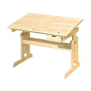 Nastaviteľný drevený písací stôl 13Casa Paint