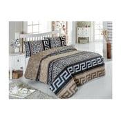 Pléd cez posteľ na dvojlôžko s obliečkami na vankúše Mixlia, 200×220 cm