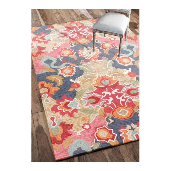 Ručne tuftovaný koberec nuLOOM Florista Multi, 152 x 244 cm