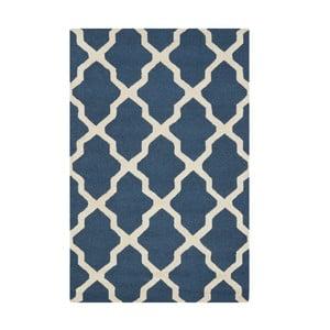 Modrý koberec Safavieh Ava, 182x121cm