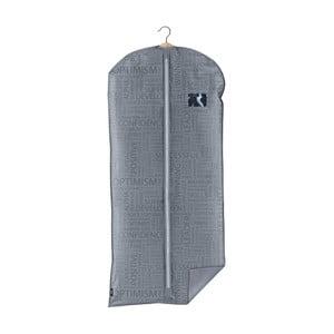 Sivý obal na šaty Domopak Urban